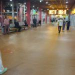 ühiskondlike hoonete põrandad