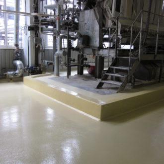 epopõrandad tööstuses